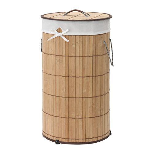 PJUCK Wäschekorb, gefüttert, Bambus | Wäschekörbe, Ikea und Badezimmer