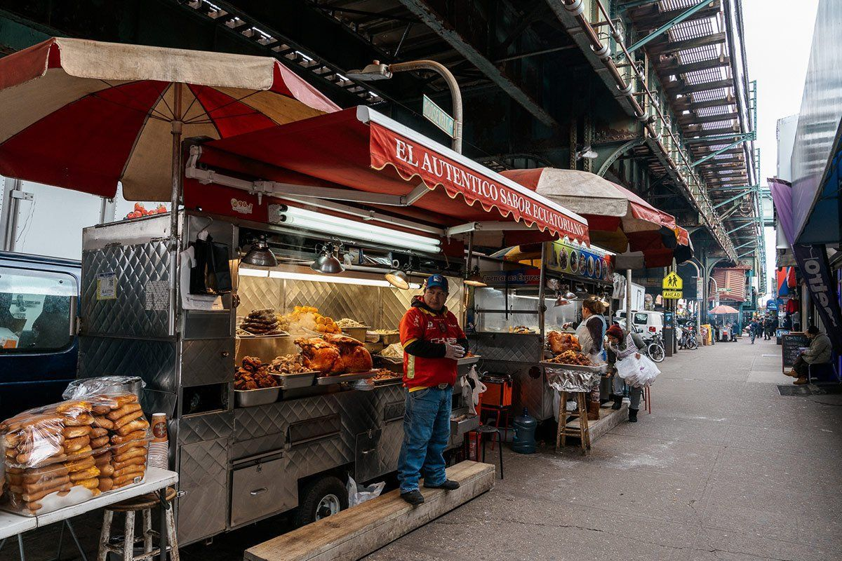 These Street Food Tours Take You Places Others Don T Like The Heart Of Queens Queens Nyc Queens Food Food Tours