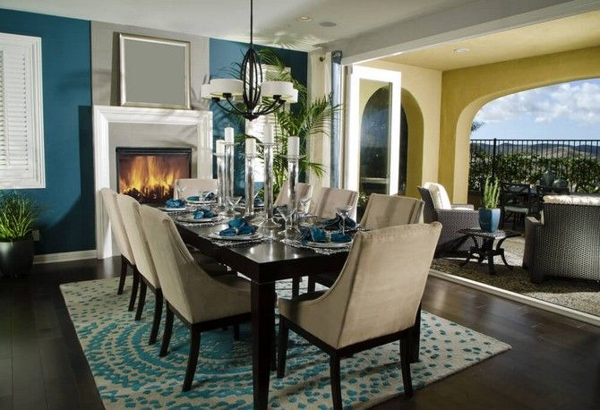 CONTECONTEMPORARY GLAMOROUMPORARY GLAMOROUS DINING ROOM RUGS Part II