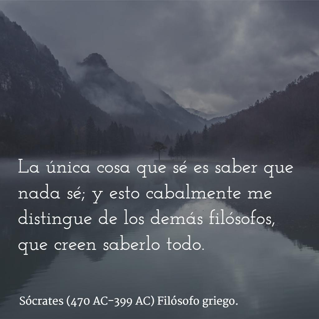 Sócrates 470 Ac 399 Ac Filósofo Griego Citas Frases