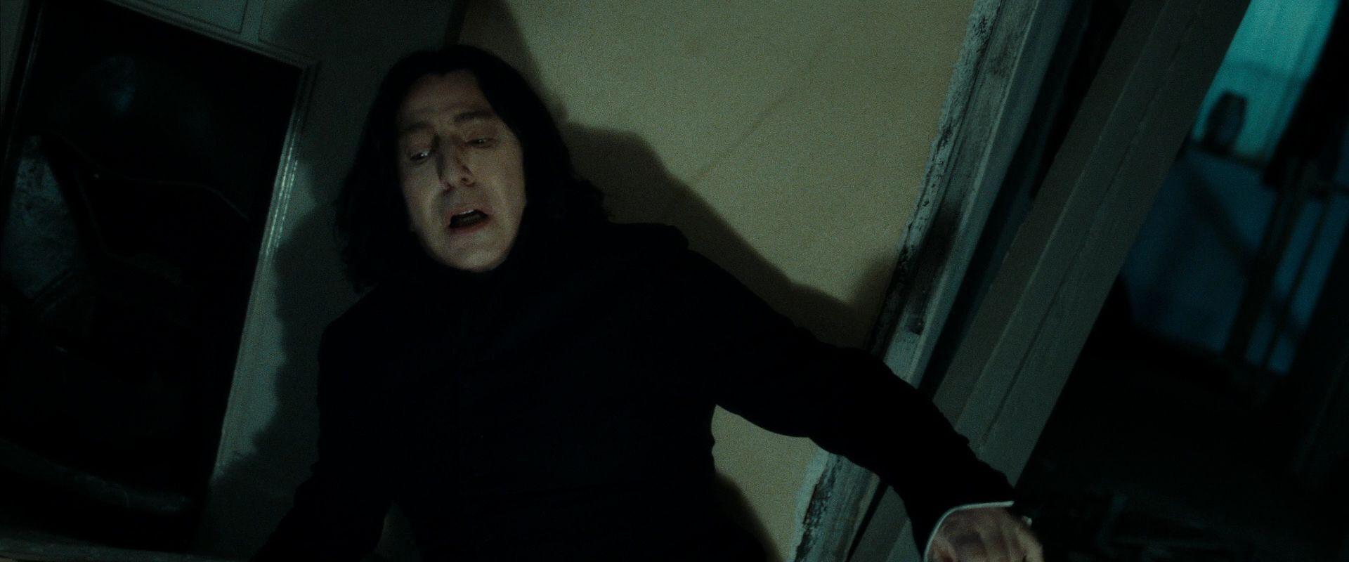Severus Snape Lily Evans Image Harry Potter 7 Deathly Hallows Part 2 Severus Snape Severus Snape Lily Evans Alan Rickman Movies