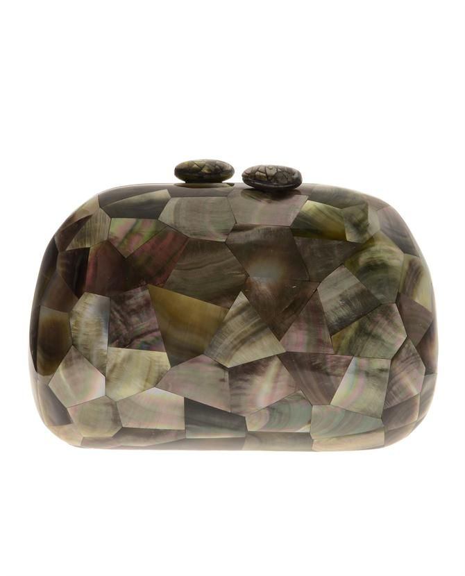 Mother of Pearl clutch - Green Serpui Sale Online Cheap High-Quality Cheap Outlet 2018 New wNsPxI