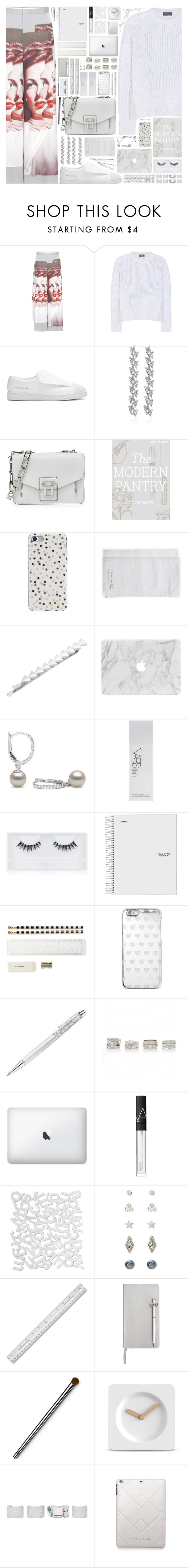 """""""🎧Change Is Never A Waste Of Time"""" by arierrefatir ❤ liked on Polyvore featuring Undercover, Acne Studios, Ben-Amun, Proenza Schouler, Hansen, Agent 18, NARS Cosmetics, Georgie Beauty, Kate Spade and Michael Kors"""