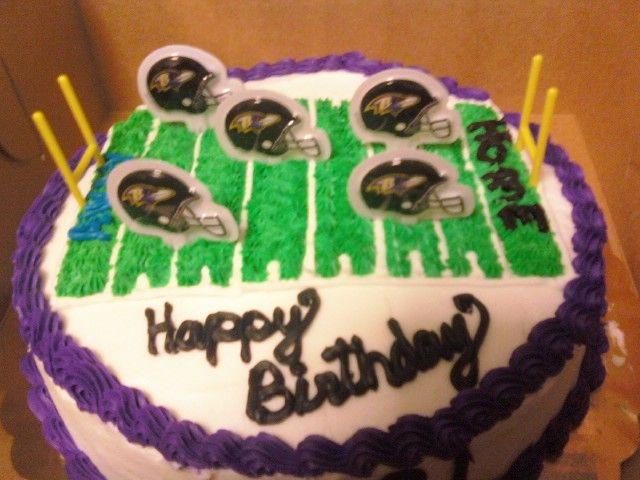 Baltimore Ravens birthday cake Baltimore Ravens Football