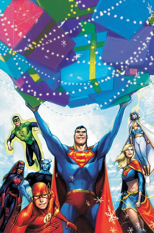 Superman and Justice League by Howard Porter