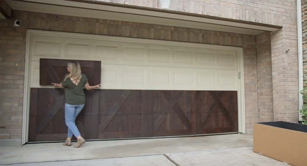 Garageskins Give You A Wood Look Without The Cost Garage Doors Garage Door Design Garage Door Styles