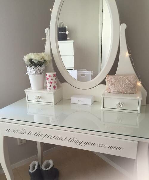 make up tafel - slaapkamer janne | pinterest - slaapkamer en, Deco ideeën
