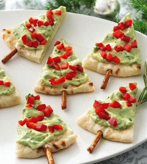 Pita Tree Appetizers Recipe Healthy Eating Pinterest