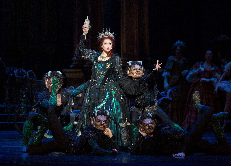 Carabosse, the evil fairy (Sleeping Beauty ballet ...