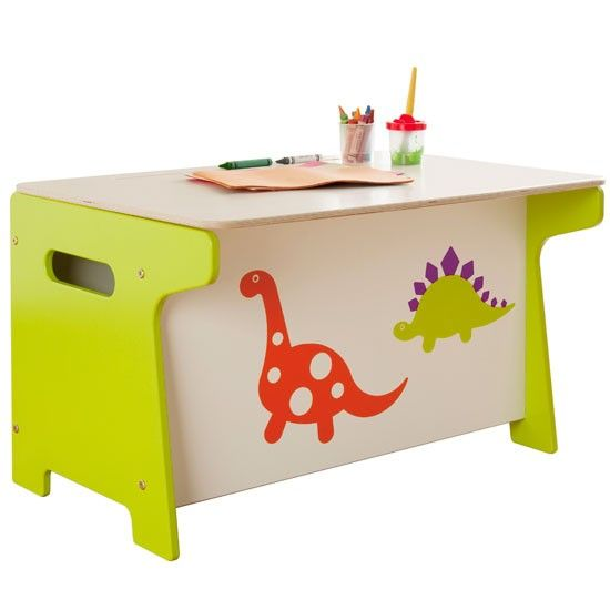 Practise drawing or writing at the desk, then lift the lid to reveal spacious storage within.