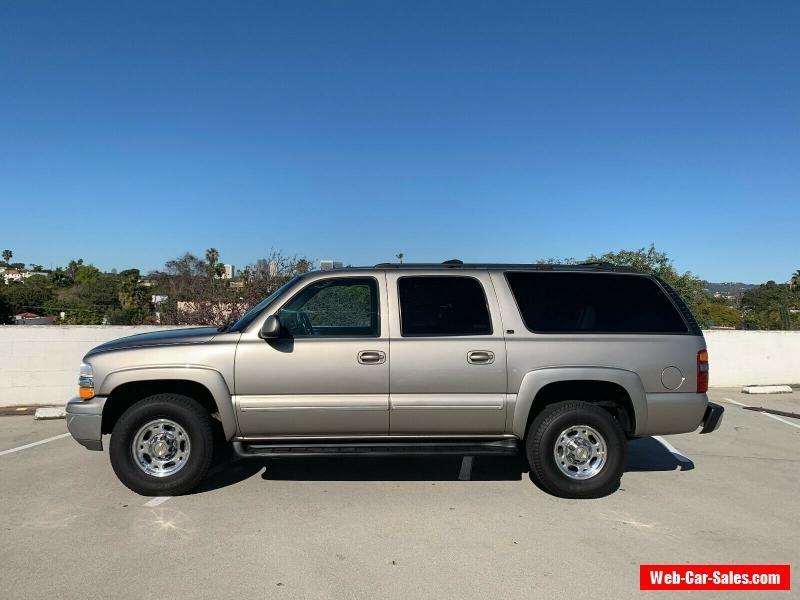 Car For Sale 2001 Chevrolet Suburban K2500 Lt 4x4