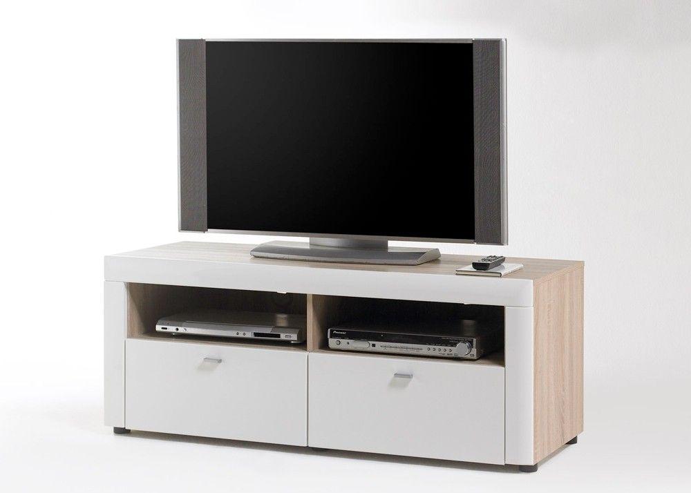 Lowboard Pesaro Sonoma Eiche mit Weiß HG 20642 Buy now at