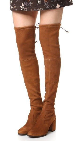 Stuart Weitzman Women's Tieland Suede Over-the-Knee Boots 2yoSg7R