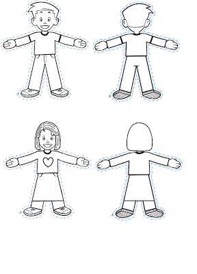 Flat Stanley And Girl Flat Ella Free Printable Paper Doll For