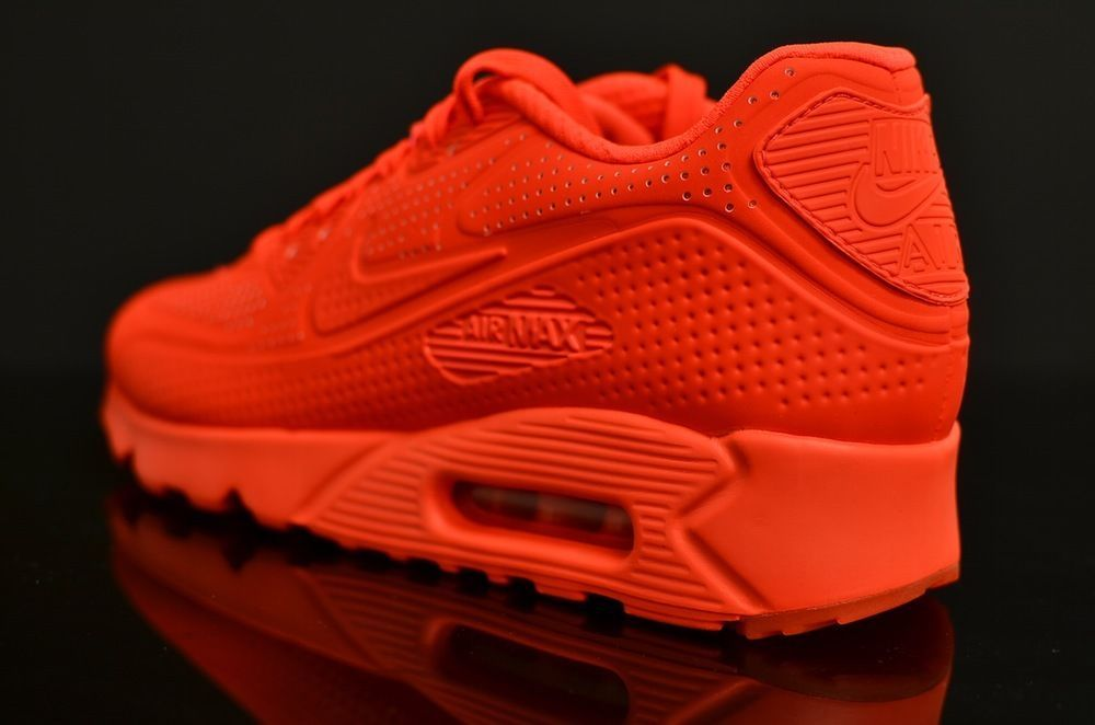 premium selection 952c3 9e1c7 Nike Air Max 90 Ultra Moire Bright Crimson Mens Shoes 819477-600 Size 10.5