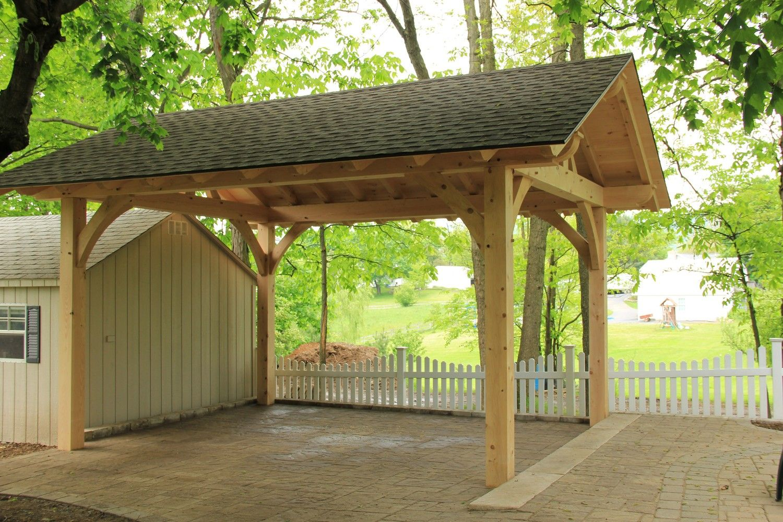 Timber Frame Pavilion 64 | backyard ideas | Pinterest | Storage ...