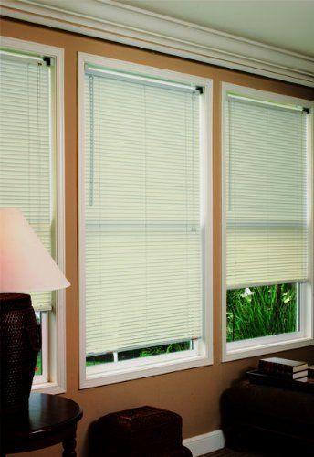 Radiance 1854865 1 Premium Room Darkening Mini Blinds Alabaster 48x64 By Rad Contemporary Home Office Furniture Contemporary Home Office Home Office Furniture