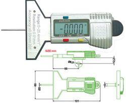 Depth Gauge Merupakan Instrumen Yang Digunakan Untuk Mengukur Kedalaman Contohnya Lubang Lubang Bor Atau Dipotong Depth Gauge Gauges Carbon Fiber Composite