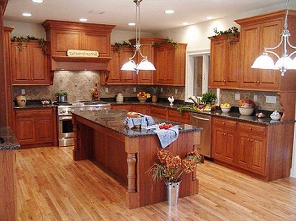 Medium Tone Wood Kitchen Cabinets Wooden Kitchen Cabinets Honey