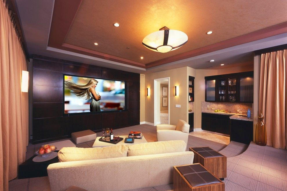 15 Awesome Basement Home Theater [Cinema Room Ideas]