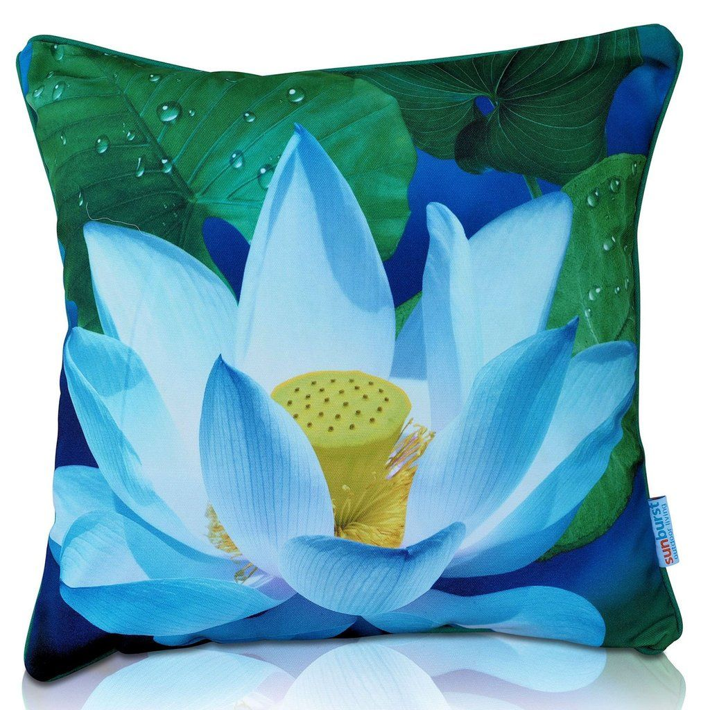 Lotus Flower Cushion Cover Premium Products Cushions And Lotus