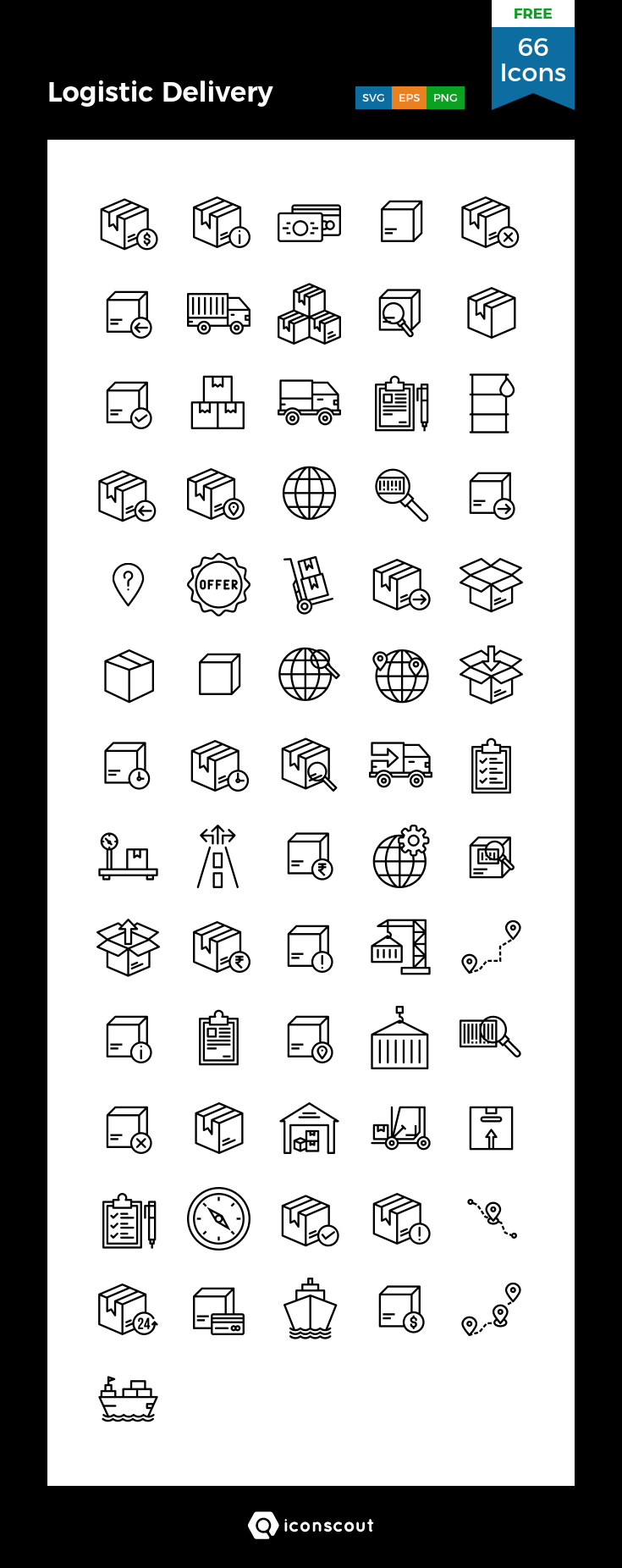 Download Logistic Delivery Icon Pack Available In Svg Png Eps Ai Icon Fonts Icon Icon Pack Free Icon Packs