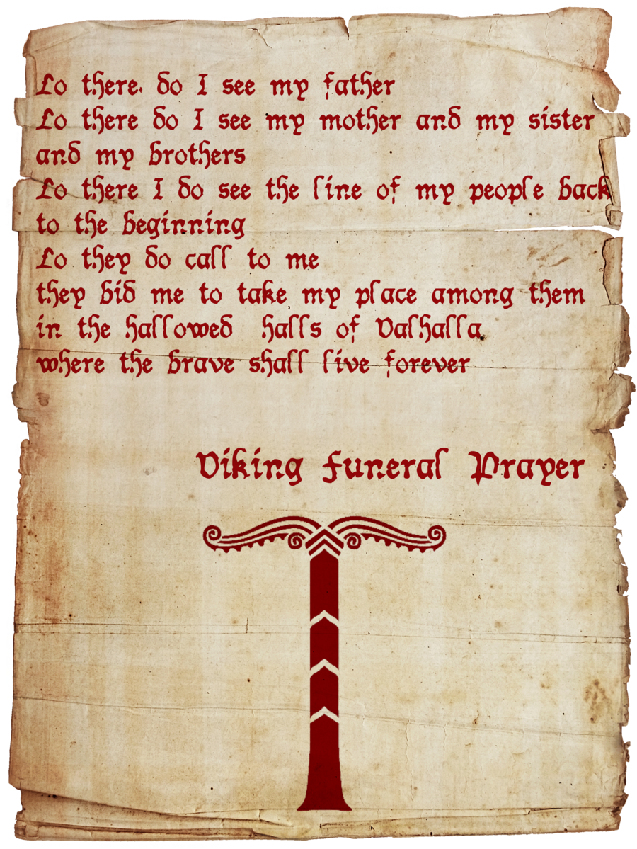 Viking farewell quotes