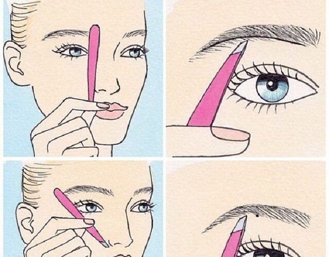 How To Shape Your Eyebrows Step By Step Guide Make Up