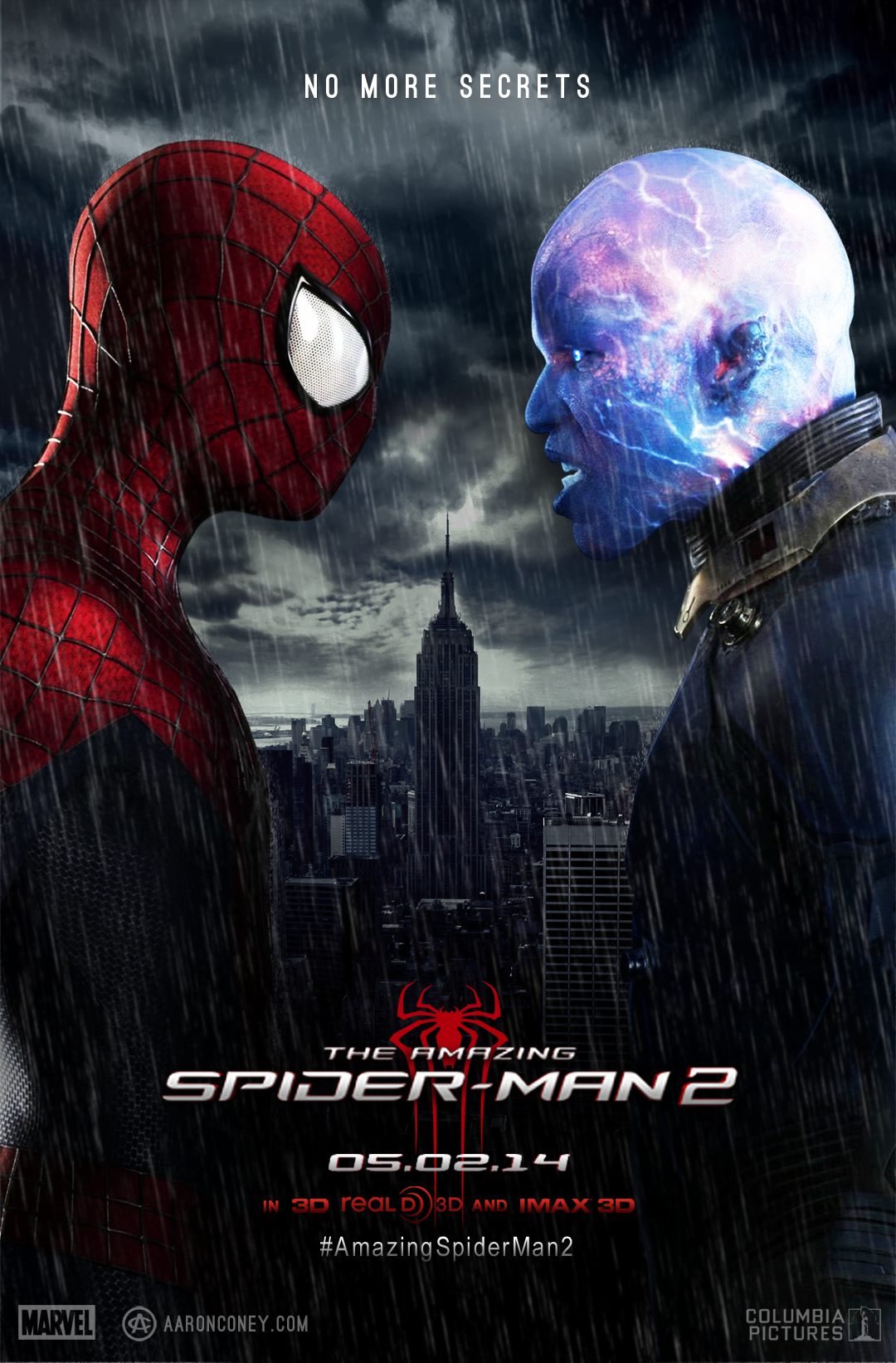 movie-poster-amazing-spider-man-2.png (1080×1643) | Marvel ...