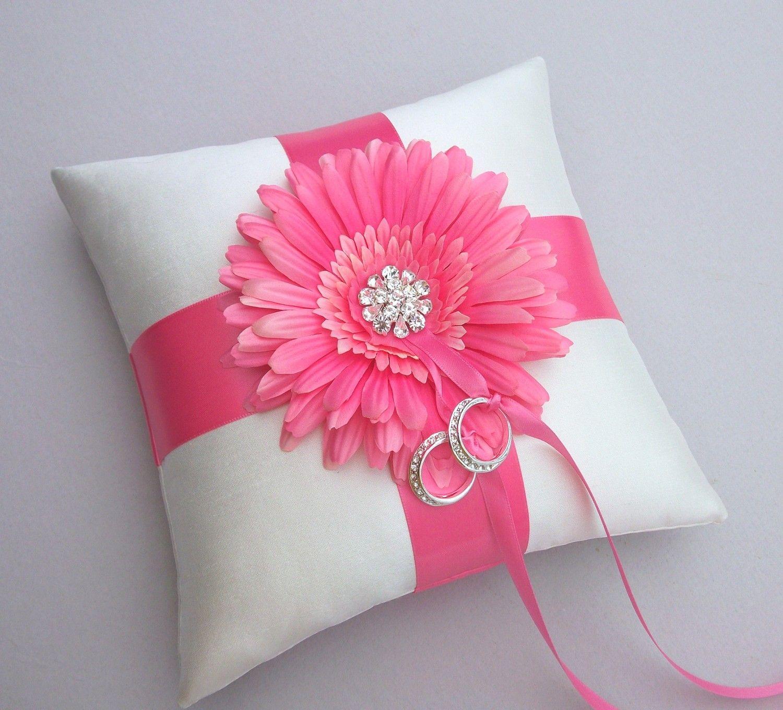 Ring Bearer\'s Pillow Hot Pink Wedding Hot Pink by IDoDoodads, $21.95 ...