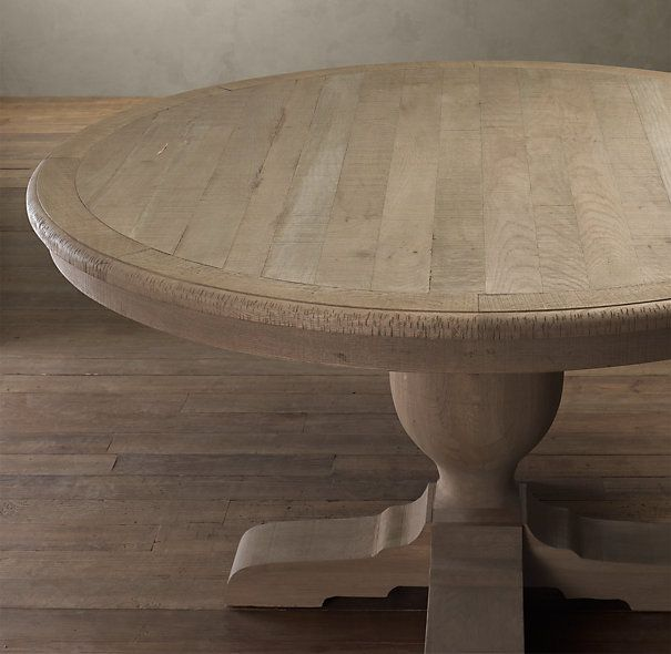 French Urn Pedestal Round Dining Table Dining Table French Urns