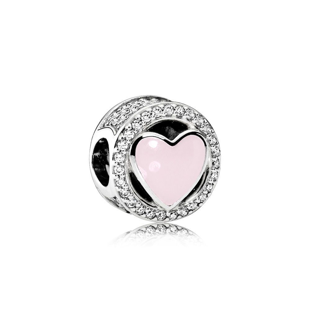 6815bbfcb Pink Wonderful Love Charm - Pandora UK | PANDORA eSTORE | Jewelry ...
