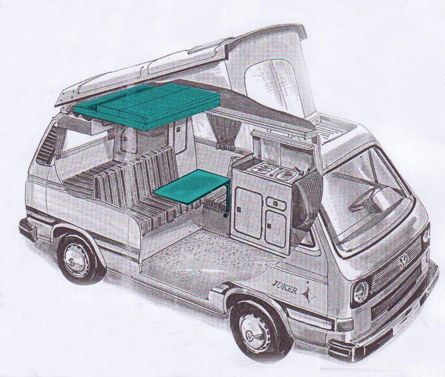 Westfalia vw t3 vw t3 syncro autres pinterest van for Interieur westfalia t3