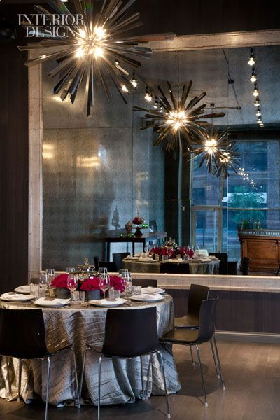 Sepia In Chicago Hospital Interior Design Private Dining Design
