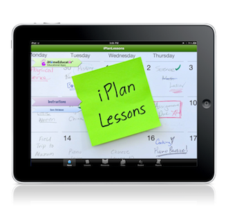 Lesson planning app. You can email the plans, print them out, etc., for record keeping purposes.  Color coded for each student's records.