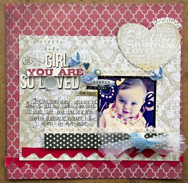 A Project by Leslie Ashe from our Scrapbooking Gallery originally submitted 11/18/11 at 12:50 PM