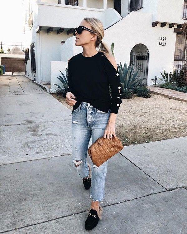 Sweater Wheretoget denim 2019         Mode, hur man bär    Tröja Whereetoget   title=         denim 2019          Fashion, How to wear