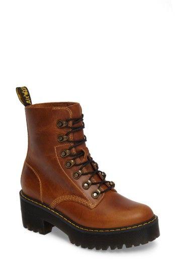 c7bb9d34f9c DR. MARTENS WOMEN S DR. MARTENS LEONA HEELED BOOT.  dr.martens  shoes