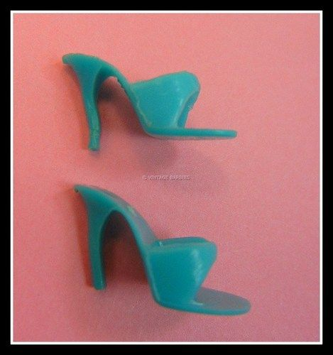 1960's Barbie Doll Shoes, They hurt almost as bad as legos to step on!