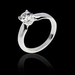 bague diamant solitaire signification
