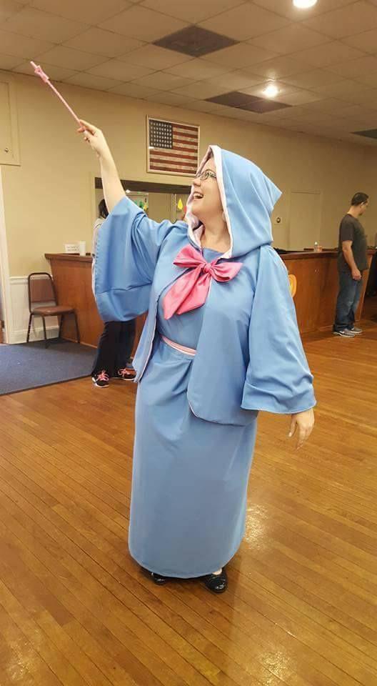 My 2016 Halloween Diy Costume Cinderella S Fairy Godmother