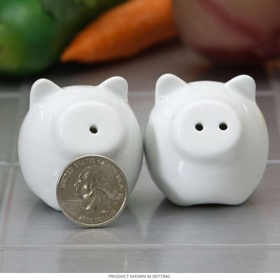 Mini Pig Salt and Pepper Shakers