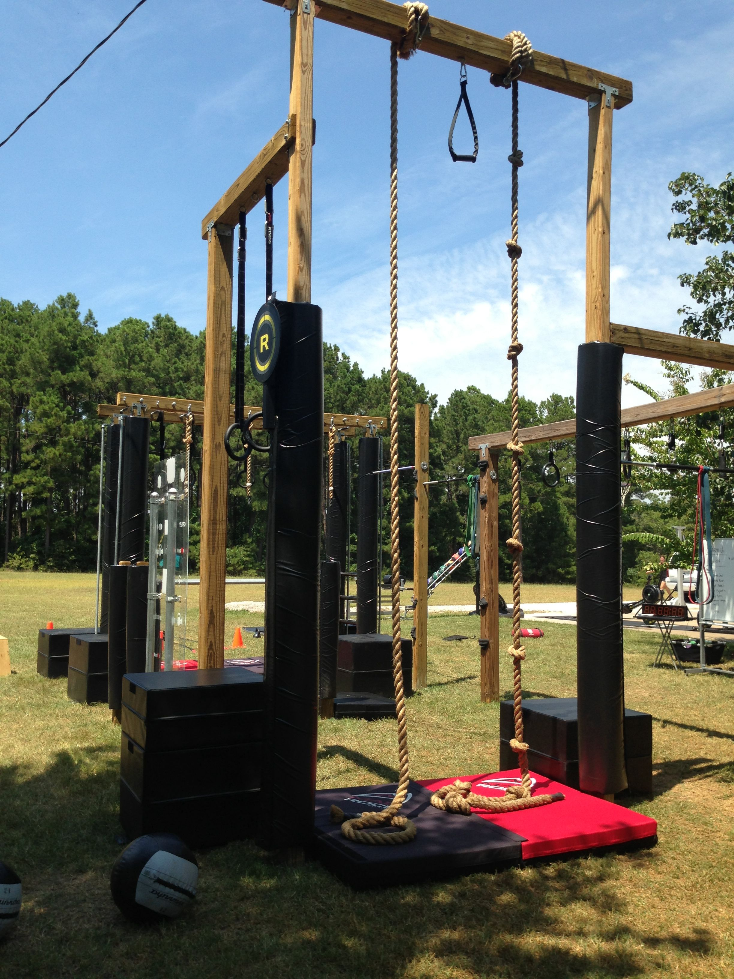 Climbing ropes fitness home gym pinterest