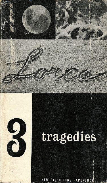 3 Tragedies by Garcia Lorca. New Directions Books, 1955. Ninth Printing.