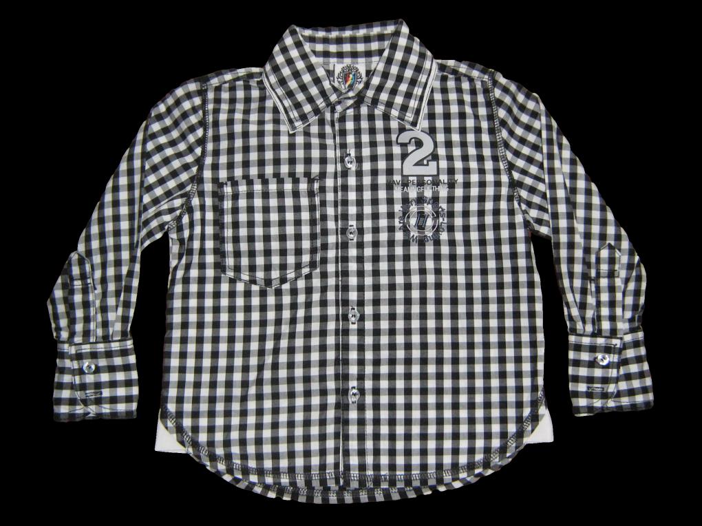 Zwart Wit Geruit Overhemd.Blouse Zwart Wit Geruit Met Tekst Op De Rug Merk R Y B Dress