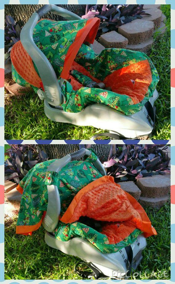 TMNT Teenage Mutant Ninja Turtles Carseat Cover And By ShaysStore Baby Turtle