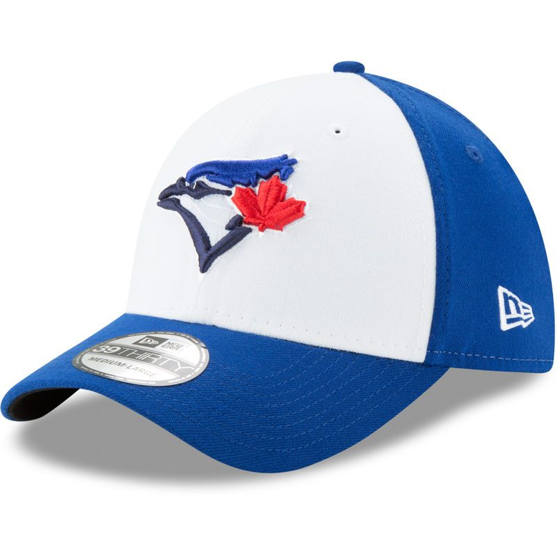 bf18554cc83 Toronto Blue Jays New Era Alternate 3 Team Classic 39THIRTY Flex Hat – White