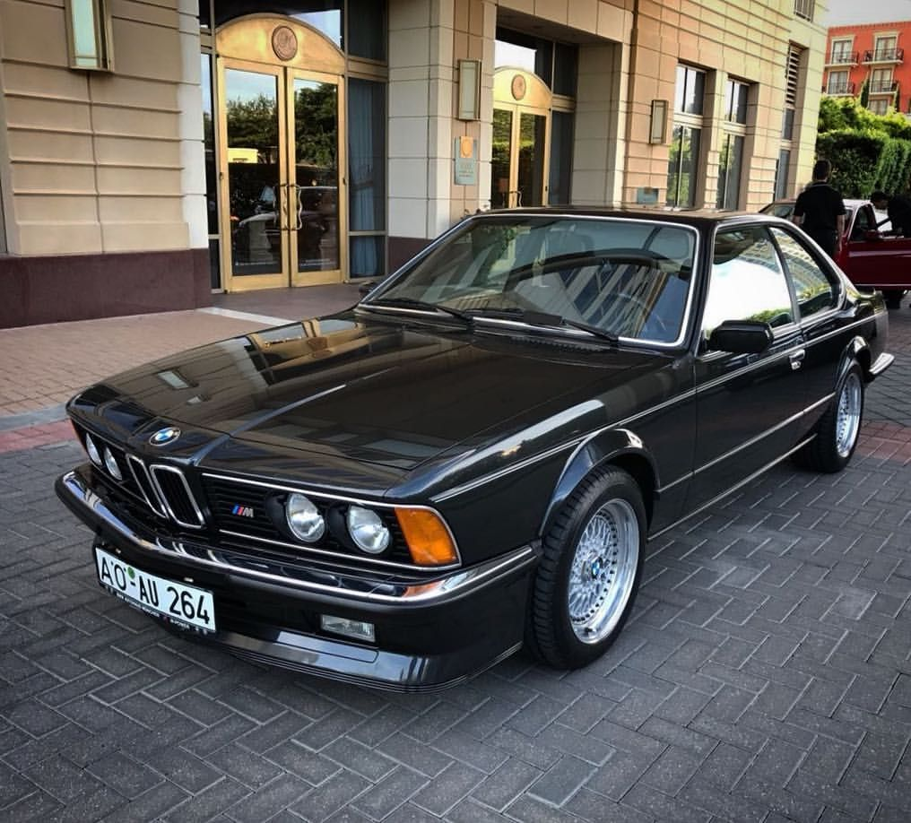 Coming Soon Ultra Cool Black On Black Bmw M635csi With Just