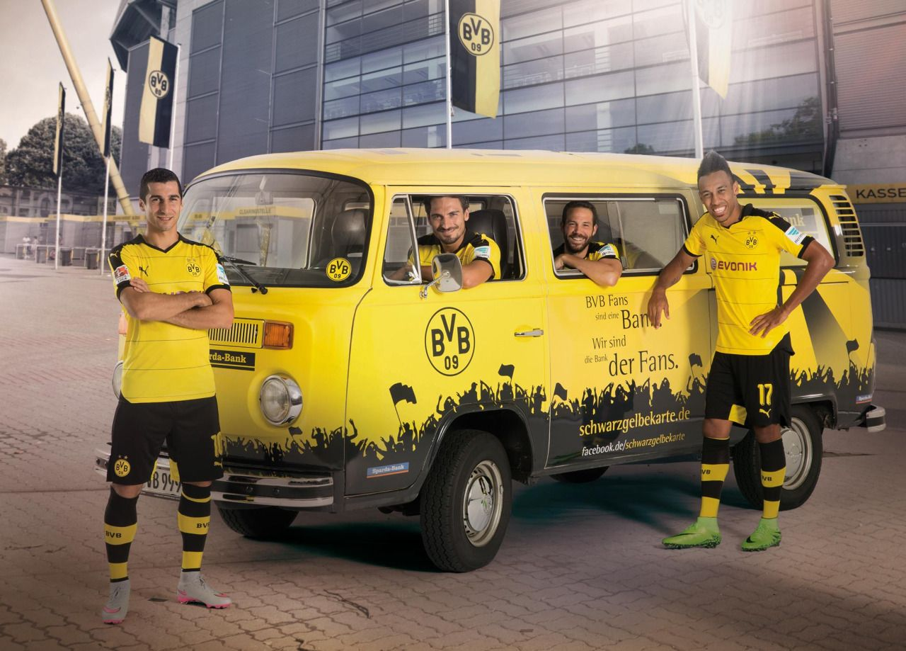 Durmfan For Schwarzgelbe Karte Borussia Dortmund Ein Leben Lang
