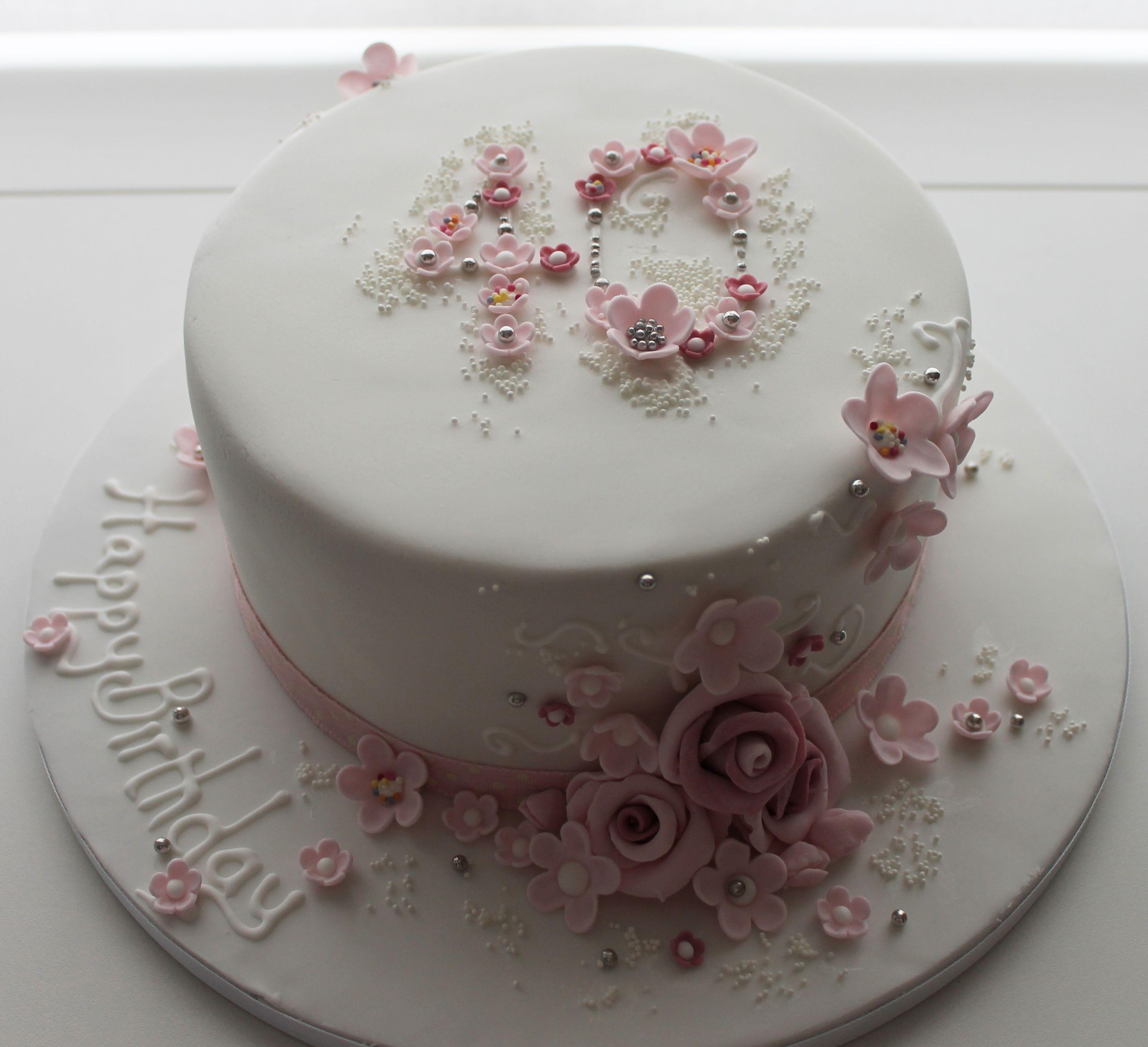 Stunning Cake Made By Jill The Cakemaker